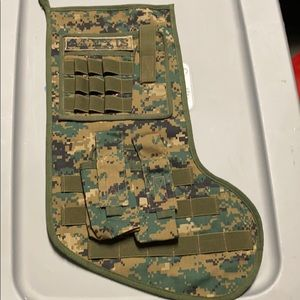 Christmas camo stocking